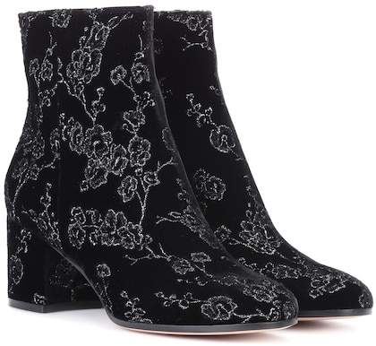 Gianvito Rossi Exclusive to mytheresa.com– Margaux velvet ankle boots
