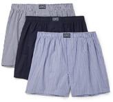 Polo Ralph Lauren Three-pack Cotton Boxer Shorts - Multi