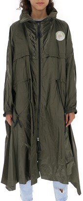 Chloé Asymmetric Drawstring Coat
