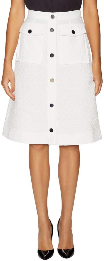 Orla Kiely Women's Flower Spot Jacquard A Line Skirt