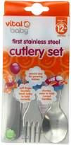 Vital Baby Stainless Steel Cutlery Set