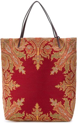 Etro Patterned Tote Bag