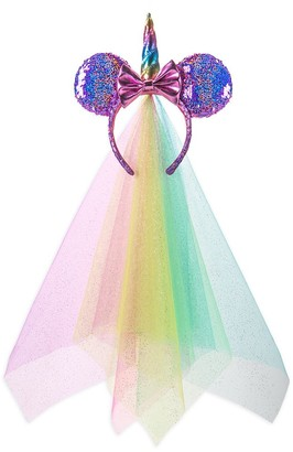 Disney Minnie Mouse Unicorn Sequined Ear Headband