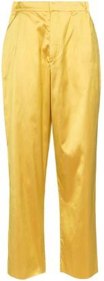 Marques Almeida High Rise Straight-Leg Trousers