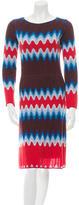 Missoni Knit Chevron Dress