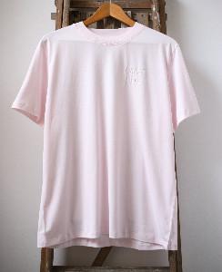 Maison Labiche Maison La Biche - Love Life Soft Pink Boy Cut T Shirt - M