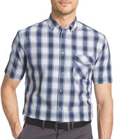 Van Heusen Short-Sleeve Woven Button-Front Shirt