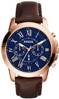 Fossil Mens Chronograph Grant Watch FS5068