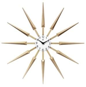Infinity Instruments Sunburst Wall Clock