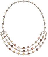 "Diamond in the Rough Rough Diamond Platinum Necklace ""Astra"""