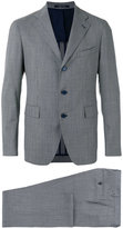 Tagliatore three button suit - men - Cupro/Wool - 50