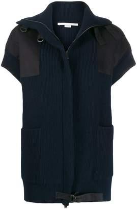 Stella McCartney patch knitted jacket