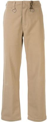 R 13 Straight-Leg Trousers