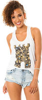 Crooks and Castles The Gold Mine Tank in White