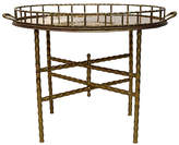 One Kings Lane Vintage Hollywood Regency Bamboo-Style Table