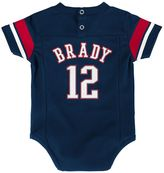 Baby New England Patriots Tom Brady Jersey Bodysuit