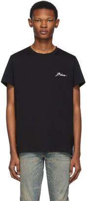Balmain Black Signature T-Shirt