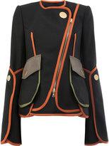 Peter Pilotto Asymmetric layered jacket