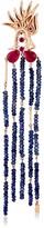 Dragon Optical Selda Jewellery Lady Ruby & Sapphire Earring (Single)