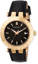 Versace Men's V Race 42mm Rose IP Watch