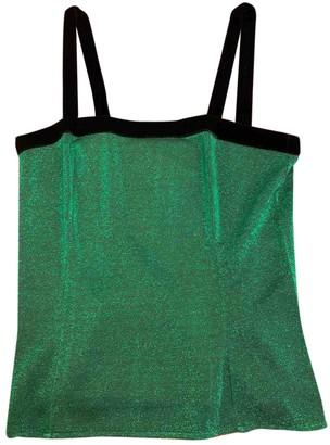 Saint Laurent Green Top for Women Vintage