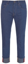 Gucci Tapered-leg Turn-up Jeans