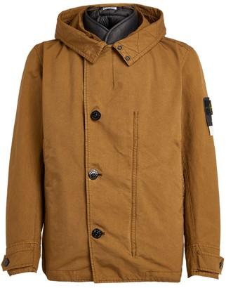 Stone Island Shearling-Lining Jacket