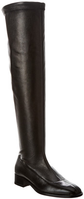 Christian Louboutin Theorhila Leather Over-The-Knee Boot