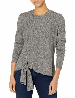 Nic+Zoe Women's Cozy Aside Tie Top