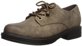 Two Lips Women's Too Riddle Oxford