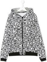 Little Marc Jacobs printed zip hoodie