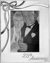 """Lenox Closeout! Picture Frame, Best Wishes 25th Anniversary 5"""" x 7"""