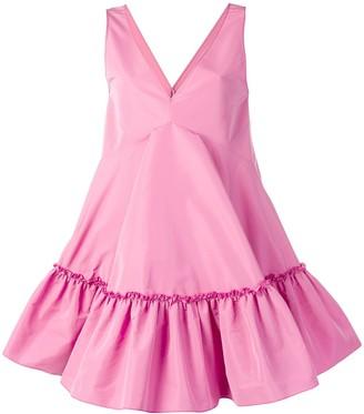No.21 Baby Doll V-Neck Dress