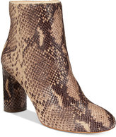 INC International Concepts Women's Taytee Block-Heel Booties, Only at Macy's