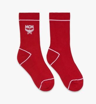 MCM Classic Logo Cotton Socks