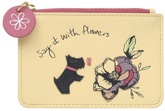 Radley Say It With Flowers Small Ziptop Coin Purse