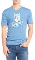 Red Jacket Men's 'Kansas City Royals - Calumet' Graphic V-Neck T-Shirt