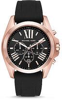 Michael Kors Bradshaw Chronograph Silicone-Strap Watch