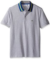Lacoste Men's Short Sleeve Resort Semi-Fancy Polo