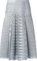 Gig - A-line knitted skirt - women - Polyester/Spandex/Elastane/Viscose - P