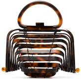 Cult Gaia Tortoiseshell Lilleth Mini Acrylic Bag