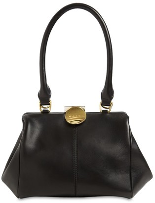 Marni Md Doctor Smooth Leather Top Handle Bag