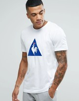 Le Coq Sportif Essential Flock T-Shirt In White 1710445