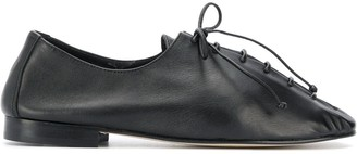 Hereu Plegada deconstructed lace-up shoes