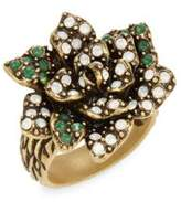 Heidi Daus Gardenia Glamour Crystal Ring
