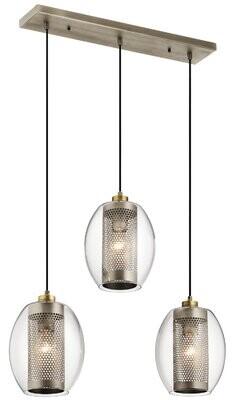 Brayden Studio Earline 3-Light Cluster Bell Pendant