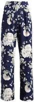 Dorothy Perkins PRINT PALAZZO Trousers navy