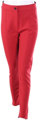 Colmar Red Trousers for Women