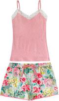 Cath Kidston Tropical Garden Vest and Short Set