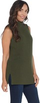 Martha Stewart Merino Wool Blend Sleeveless Sweater